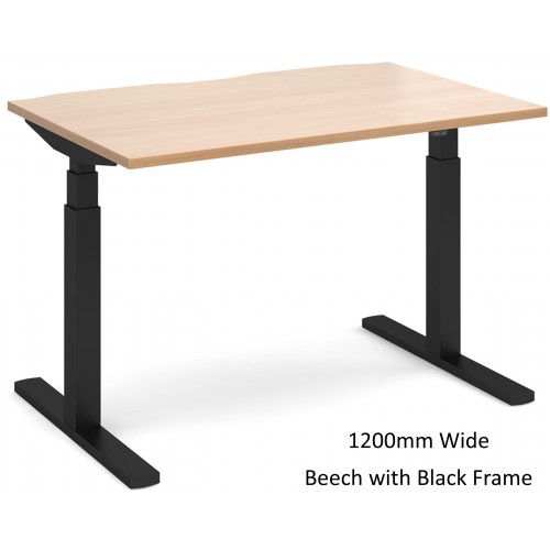 Elev8 Touch Sit-Stand Straight Office Desk